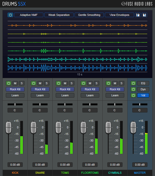 Fuse Audio Labs releases the DrumsSSX drum source un- and