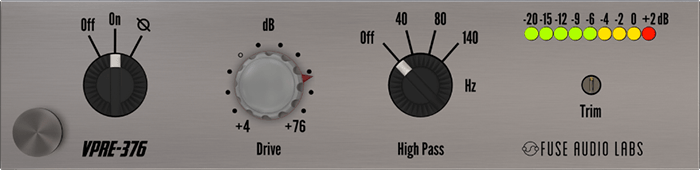 Fuse Audio Labs releases the VPRE-376 plugin - KVR Audio